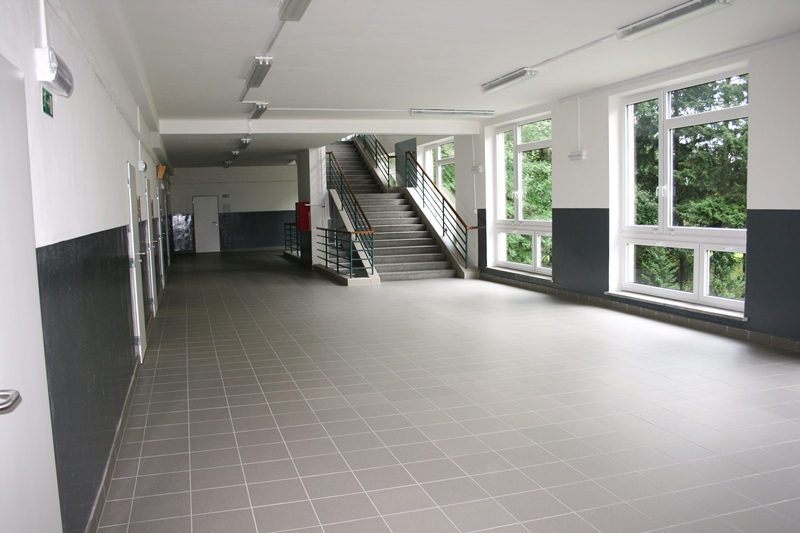 VOŠE - rekonstrukce pavilonu