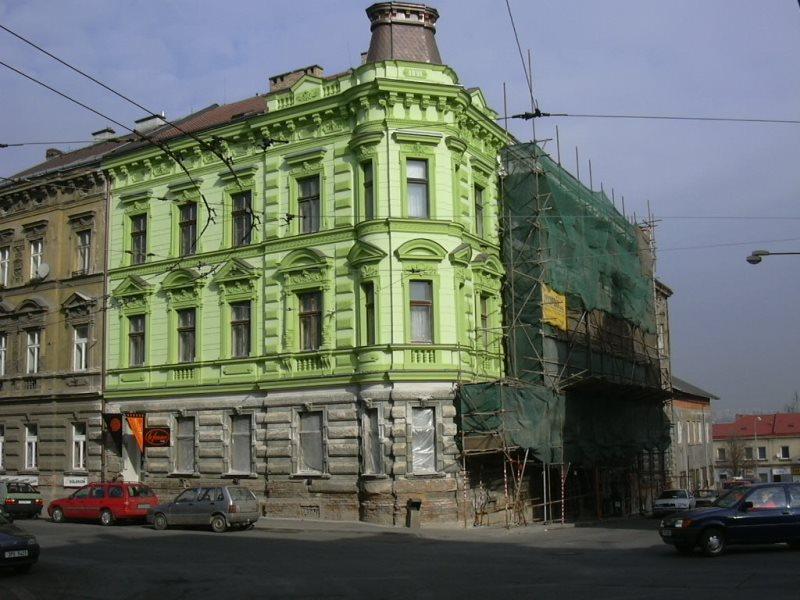 Fasáda - U tržiště, Plzeň